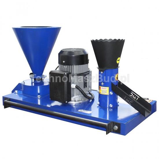 Fodder granulator KGM-100+ (feed compound granulator + grain crusher)