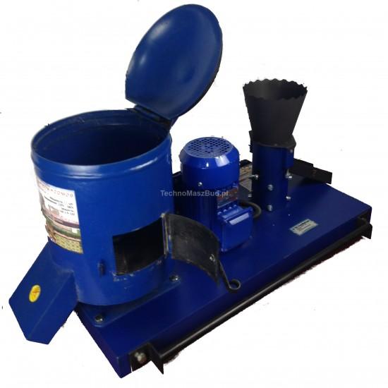 Fodder granulator KGM-100+ (feed compound granulator + feed cutting machine + maize crusher)