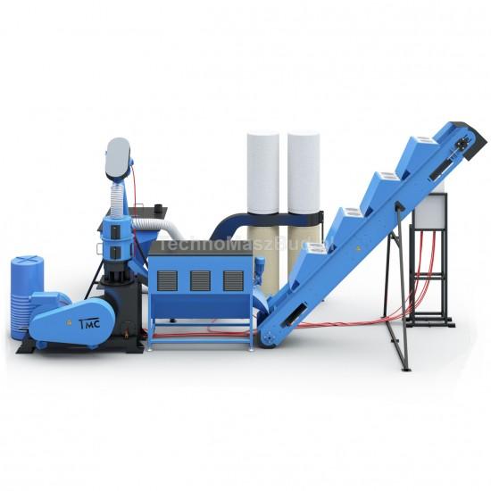 Granulation Line LDG-3000 (KOMBI) | 25 Kw