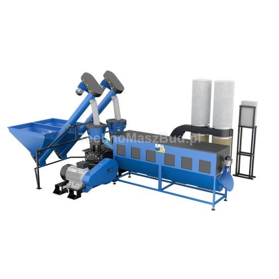 Granulation Line LDG-3000 (DUO)   48 KW