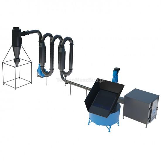Aerodynamic sawdust dryer SA-600